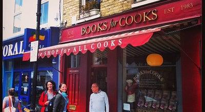 Photo of Bookstore Books For Cooks at 4 Blenheim Crescent, London W11 1NN, United Kingdom