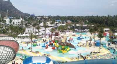 Photo of Water Park Santorini Water Fantasy (ซานโตรินี วอเตอร์ แฟนตาซี) at 555 Moo 3, Cha Am 76120, Thailand