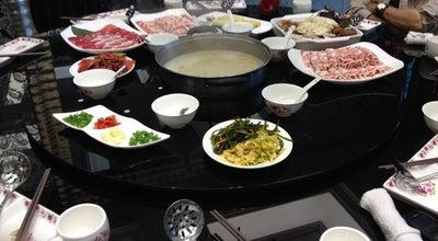 Photo of Asian Restaurant 如一坊豆捞 at 哈尔滨赣水路负26号, 哈尔滨市, 黑龙, China