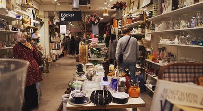 Photo of Thrift / Vintage Store Myrorna at Hornsgatan 96, Stockholm, Sweden