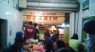 Photo of Asian Restaurant Soto Daging Miroso - Cak Man at Jl. Hos. Cokroaminoto, Kediri, Indonesia