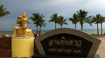 Photo of Beach ลานหินขาว หาดแม่รำพึง at หาดแม่รำพึง, Rayong, Thailand