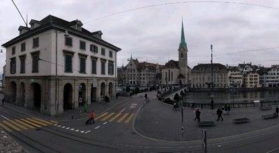 Photo of Historic Site Grossmünsterplatz at Zurich, Switzerland