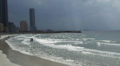 Photo of Beach Ajman Beach at Uae, Ajman, United Arab Emirates