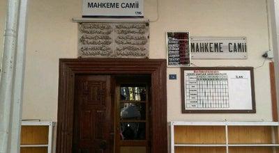 Photo of Mosque Mahkeme Camii at Çayiçi Caddesi, Edremit 10300, Turkey