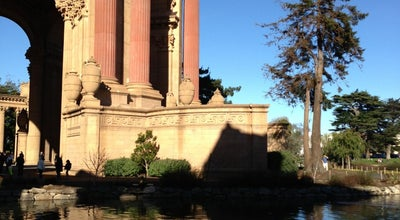 Photo of Lake Palace of Fine Arts Lagoon at Baker Street, San Francisco, CA 94123, United States