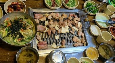 Photo of BBQ Joint 새섬갈비 at 송산동 650-2, 서귀포시, South Korea