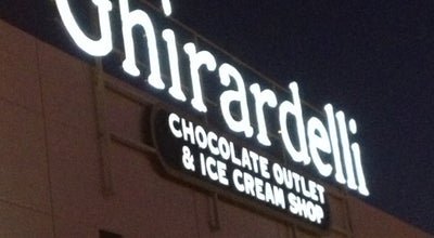 Photo of Dessert Shop Ghiradelli Chocolate Outlet & Ice Cream Shop at 11980 S Harlan Rd, Lathrop, CA 95330, United States