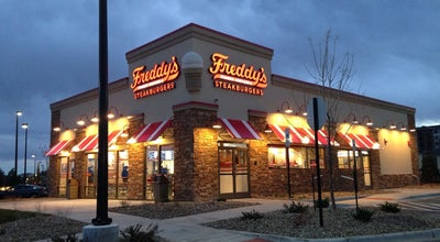 Photo of American Restaurant Freddy's Frozen Custard & Steakburger's at 2300 Coalton Rd., Broomfield, CO 80021, United States