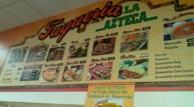 Photo of Mexican Restaurant La Azteca at 1550 N Interstate 35 E, Lancaster, TX 75134, United States