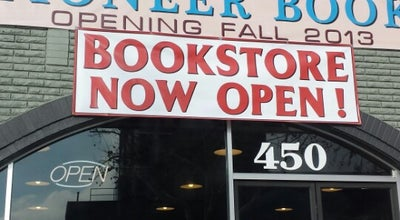 Photo of Bookstore Pioneer Book Store at 450 W Center St, Provo, UT 84601, United States