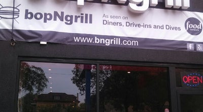 Photo of Burger Joint bopNgrill at 6604 N Sheridan Rd, Chicago, IL 60626, United States