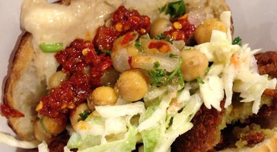 Photo of Falafel Restaurant Amsterdam Falafelshop at 1830 14 Th St Nw, Washington, DC 20009, United States