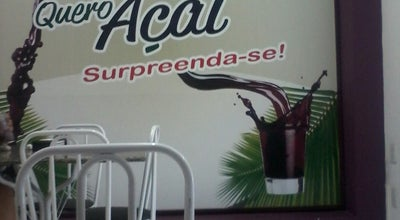 Photo of Dessert Shop Quero Açaí at Rua 7 De Dezembro, Brazil