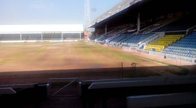 Photo of Arcade Posh football ground at London Road, Peterborough, United Kingdom