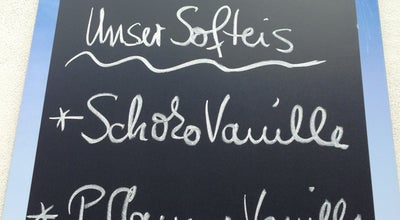 Photo of Ice Cream Shop Café Lösch at Niederwaldstr. 20, Dresden 01277, Germany