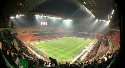 "Photo of Soccer Stadium Stadio San Siro ""Giuseppe Meazza"" at Via Privata Dei Piccolomini 5, Milano 20151, Italy"