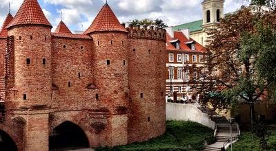 Photo of Scenic Lookout Barbakan at Warszawa, Poland