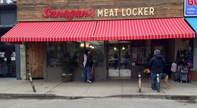 Photo of Butcher Sanagan's Meat Locker at 176 Baldwin Ave., Toronto, ON M5T 1L8, Canada