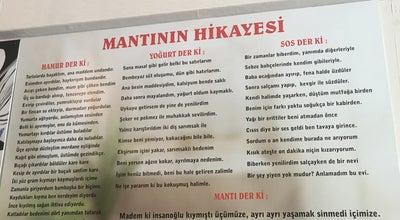 Photo of Diner Üçgen Mantı & Cafe at Teşvikiye Mahallesi Sezai Selek Sokak No 1/a, İstanbul, Turkey