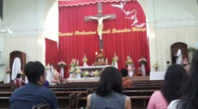 Photo of Church Gereja St.Yohanes Rasul Pringwulung at Jl.panuluh 337 A Pringwulung,condongcatur, Sleman 55283, Indonesia
