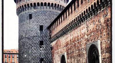Photo of Castle Castello Sforzesco at Piazza Castello, 3, Milano 20121, Italy