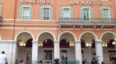 Photo of Department Store Galeries Lafayette at 6 Avenue Jean Médecin, Nice 06000, France