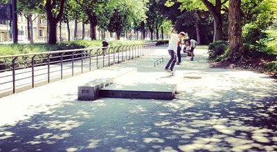 Photo of Skate Park Zuid Skatepark at Koning Albertpark, Gent 9000, Belgium