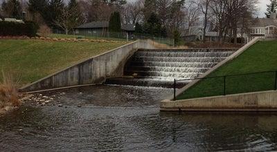 Photo of Lake Birmingham Waterfall at 1340 Puritan Ave, Birmingham, MI 48009, United States