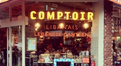 Photo of Middle Eastern Restaurant Comptoir Libanais at 59 Broadwick St., London W1F 9QH, United Kingdom