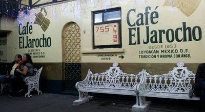 Photo of Cafe Café El Jarocho at Av. Miguel Angel De Quevedo 755-b, Coyoacán 04330, Mexico