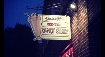 Photo of Ice Cream Shop Cannon Ball Malt Shop at 11 York St, Gettysburg, PA 17325, United States