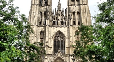 Photo of Church Cathédrale Saint-Michel et Gudule / Sint-Michiels en Sint-Goedelekathedraal at Parvis Sainte-gudule / Sint-goedelevoorplein, Brussels 1000, Belgium