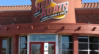 Photo of Burger Joint Red Robin Gourmet Burgers at 5731 Long Prairie Rd, Flower Mound, TX 75028, United States