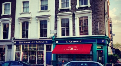 Photo of French Restaurant L'Absinthe at 40 Chalcot Road, London NW1 8LS, United Kingdom