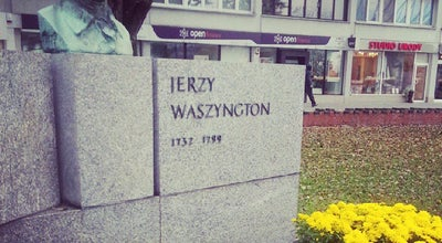 Photo of Monument / Landmark Pomnik Jerzego Waszyngtona at Rondo Waszyngtona, Warszawa, Poland