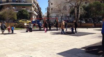 Photo of Playground Παιδική Χαρά at Πλατεία Καρπάθου, Πειραιάς 185 39, Greece