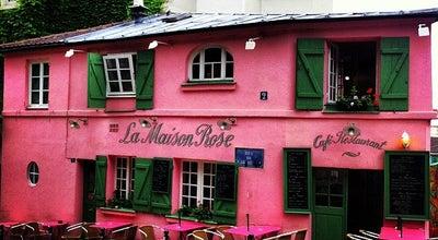 Photo of French Restaurant La Maison Rose at 2 Rue De L Abreuvoir, Paris 75018, France