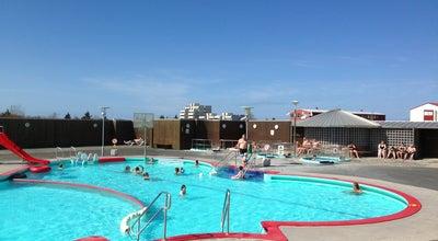 Photo of Pool Vesturbæjarlaug at Hofsvallagötu, Reykjavik 101, Iceland