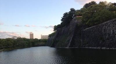 Photo of Lake 大阪城内濠 at 中央区大阪城, 大阪市, Japan