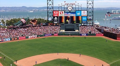 Photo of Baseball Stadium AT&T Park at 24 Willie Mays Plaza, San Francisco, CA 94107, United States