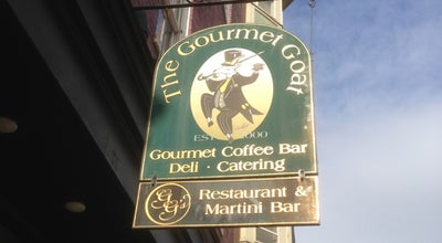 Photo of Coffee Shop The Gourmet Goat & GG's Restaurant & Martini Bar at 41 N Potomac St, Hagerstown, MD 21740, United States