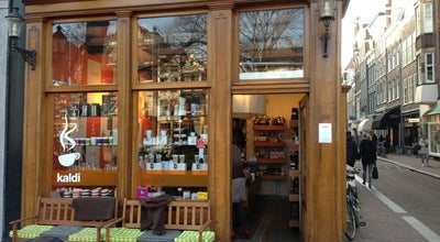 Photo of Cafe Kaldi at Herengracht 300, Amsterdam 1016 CD, Netherlands