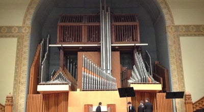 Photo of Concert Hall Setnor Auditorium at Crouse College, Syracuse, NY 13210, United States
