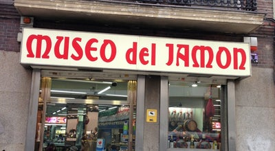 Photo of Spanish Restaurant Museo del Jamón at Paseo Del Prado 44, Madrid, Spain