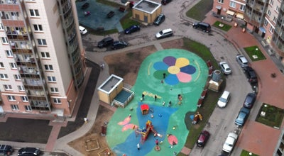 Photo of Playground Детская площадка «Нового Созвездия» at Просп. Просвещения, 99, Санкт-Петербург 195299, Russia