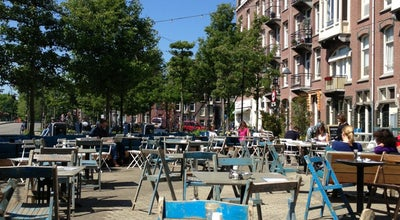 Photo of Cafe Du Cap at Kwakersplein 2, Amsterdam, Netherlands