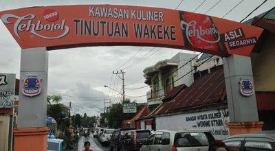 Photo of Vegetarian / Vegan Restaurant Pondok 17 Wakeke at Kawasan Wisata Kuliner Tinutuan Wakeke, Manado 95126, Indonesia