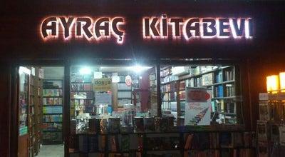 Photo of Bookstore Ayraç Kitabevi at Altıntaş Mah. Türkocağı Cad. No:30, Nazilli 09800, Turkey