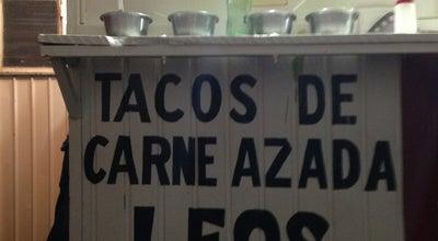 Photo of Mexican Restaurant Tacos De Carne Azada Leos at Mexico